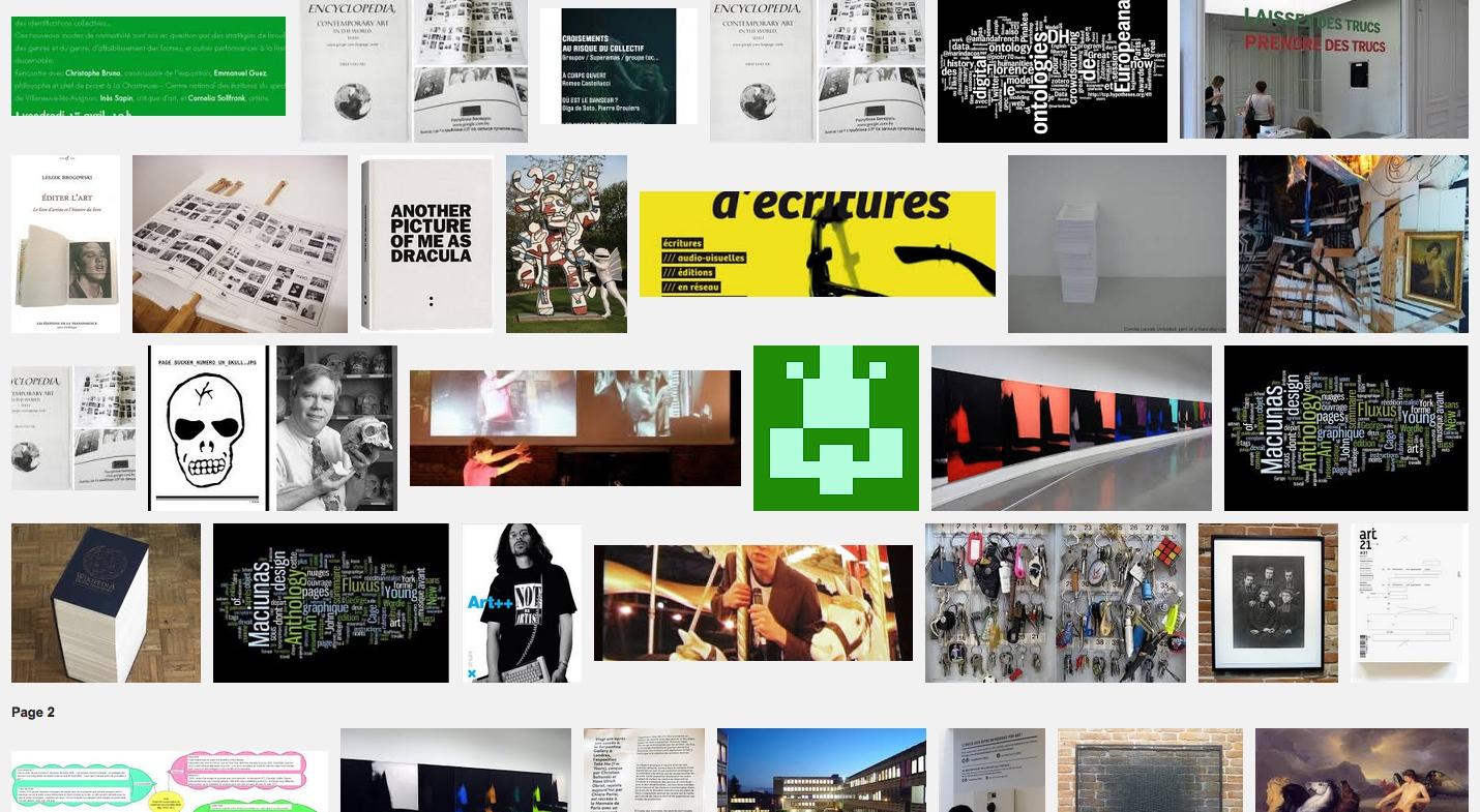 Le rire de l'art – l'art du réseau et la mystification – Jeu de Paume – Paris – 1 avril 11