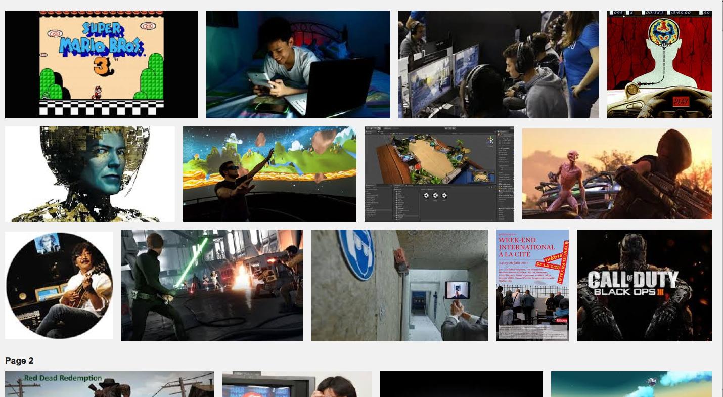 théâtre et jeu vidéo