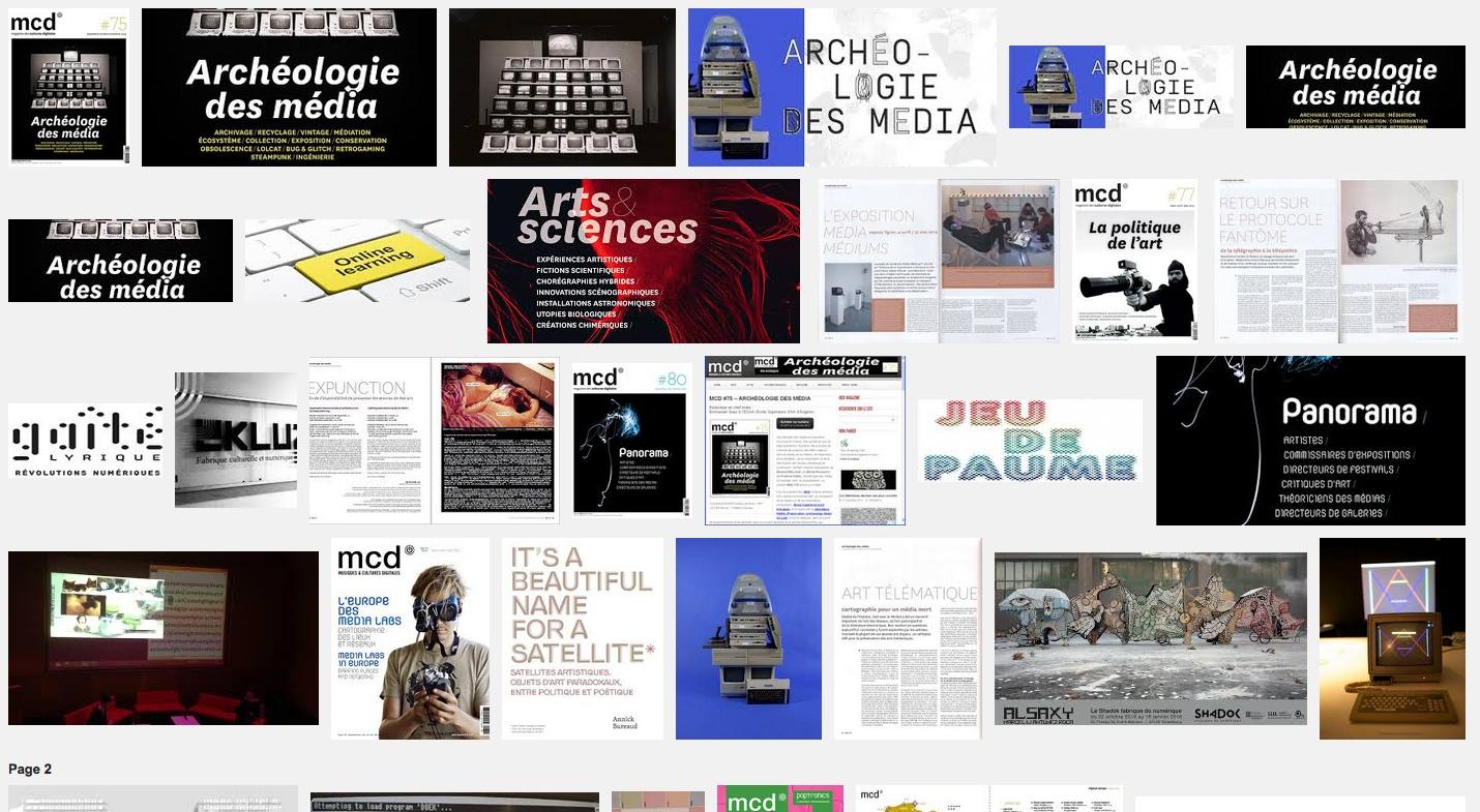 MCD #75 Archéologie des média