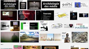 Lancement MCD 75 Archéologie des média - Gaîté Lyrique - PARIS