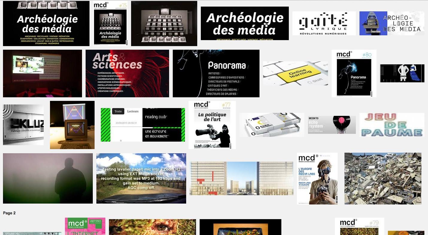 [PAMAL] Lancement MCD#75 Archéologie des média – Gaîté Lyrique – PARIS – 30 oct 14