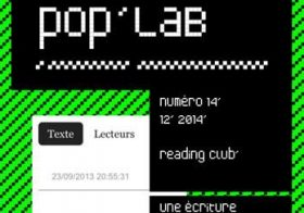 Reading Club – poplab – décembre 14