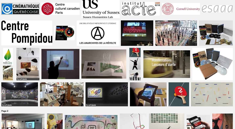 Anarchive a 20 ans – Centre Pompidou – 13 mars 2015