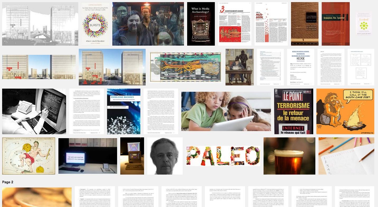 L'ère du Paléo-Digital – Art, archéologie des média, atlas – B.N.F, Beaux-Arts de Paris – 6 et 7 mai 15