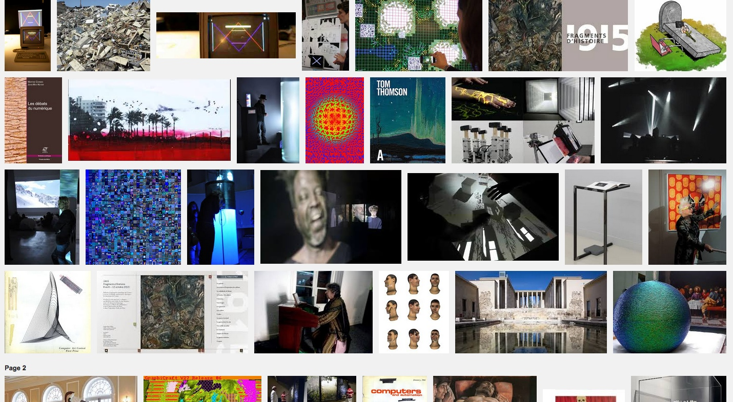 Vie et mort des œuvres d'art numérique – Colloque Architectures de mémoire – 18 nov 15