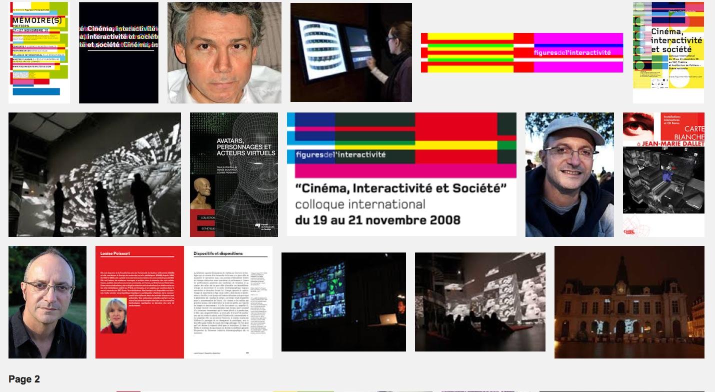 Les machines mémorielles du théâtre – Biennale de l'interactivité – Poitiers – 19 nov 10