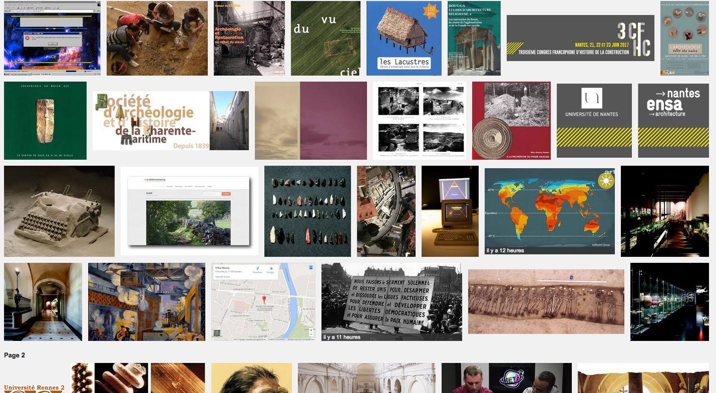 [PAMAL] Journée d'études – ESA Avignon – entre histoire et archéologie du web – 30 juin 15