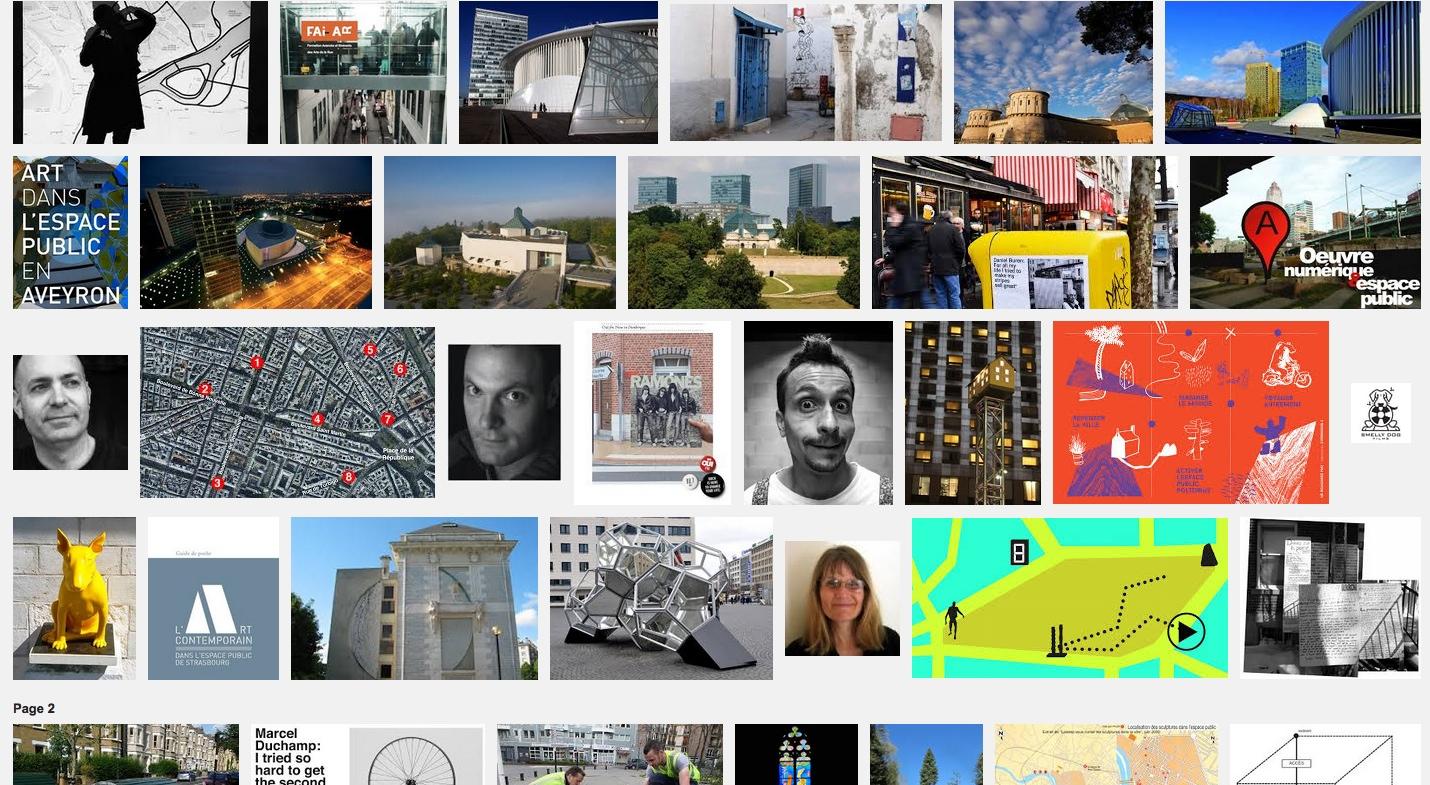 Géolocalisation et arts dans l'espace public – Chalon – 13 fév 14