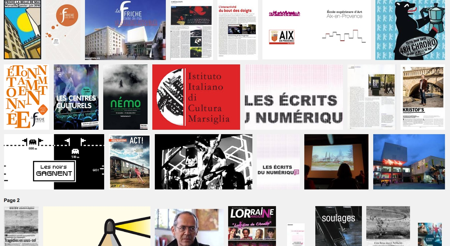 Les écrits du numérique – table-ronde – La Friche – Marseille 23 nov 12