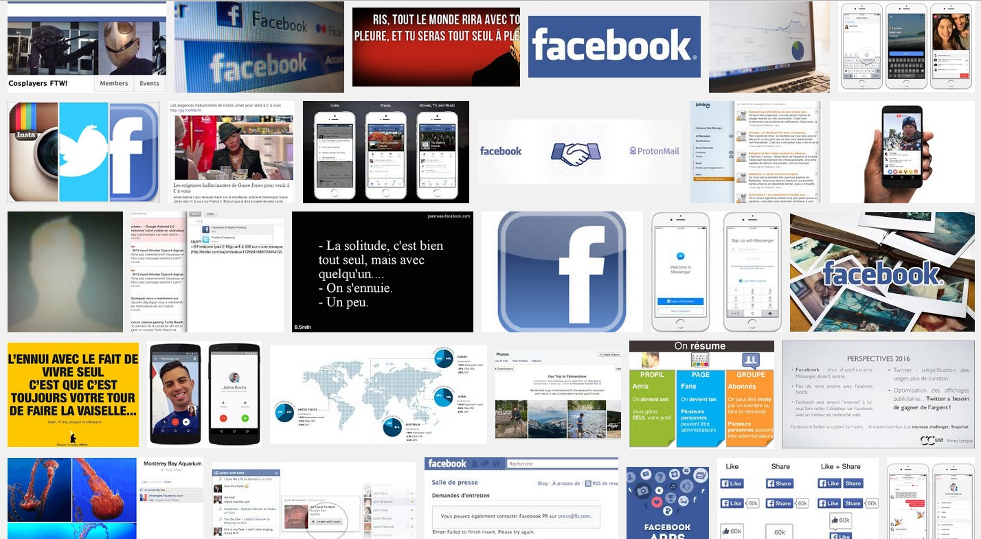 seul avec facebook / alone with facebook (depuis / since 2009)